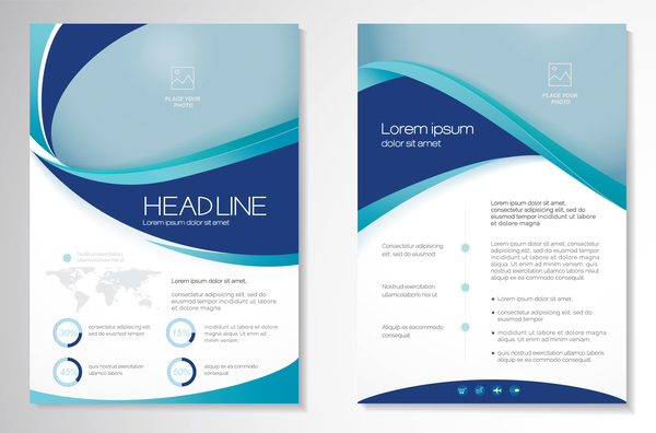 flyer cover business brochure abstract