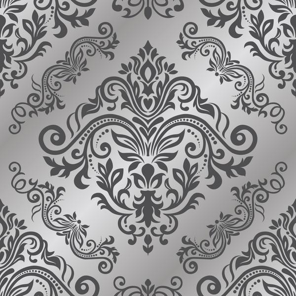 seamless pattern ornament baroque