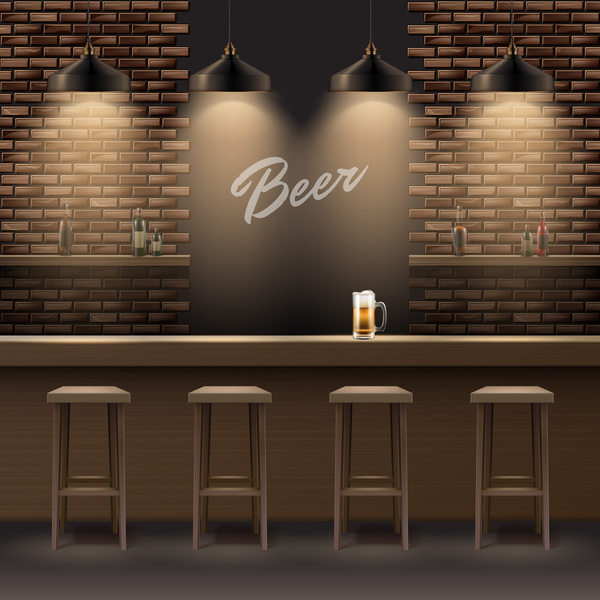 interior beer bar