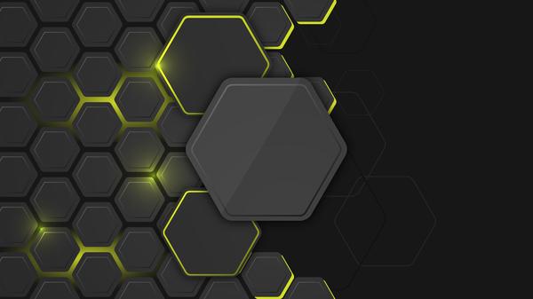 hexagon fiber carbon black