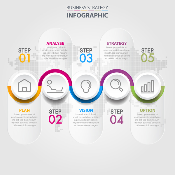 strategy infographic business