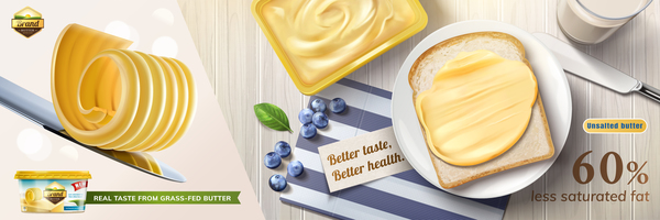 poster butter advertising