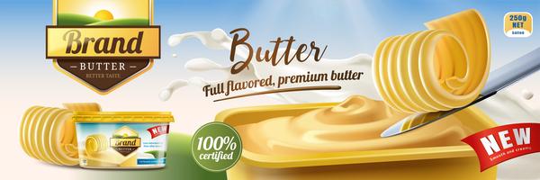 poster butter advertising