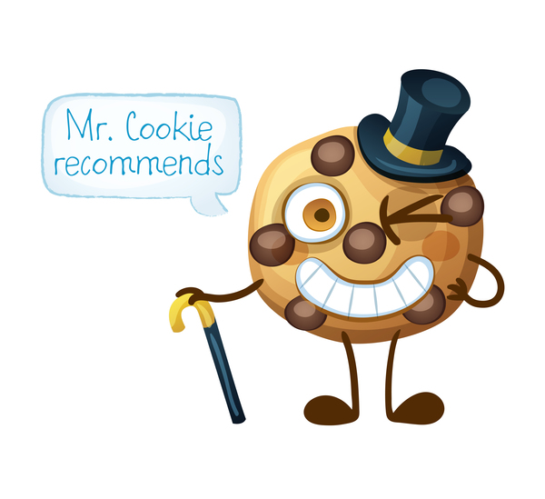 Cookie characters cartoon