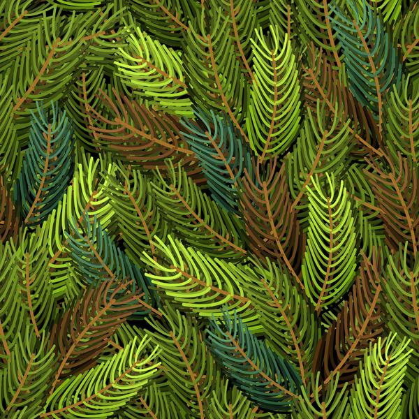 seamless pattern fir christmas branches