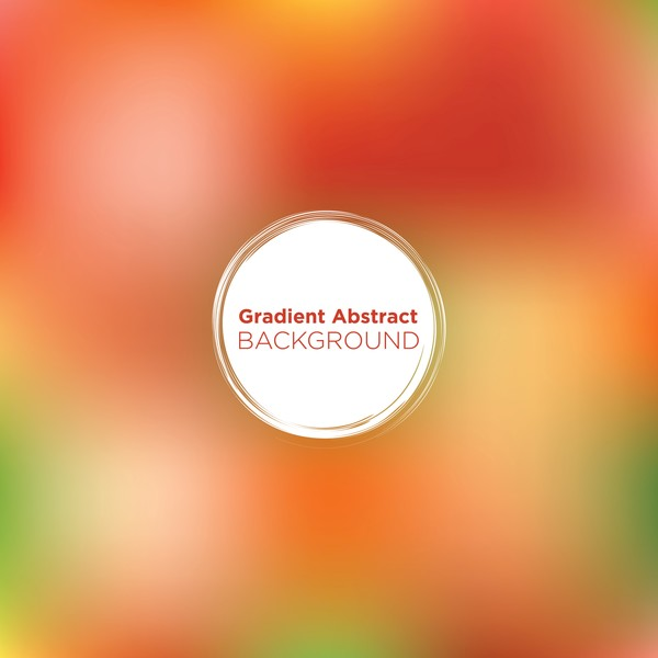 gradient colored abstract