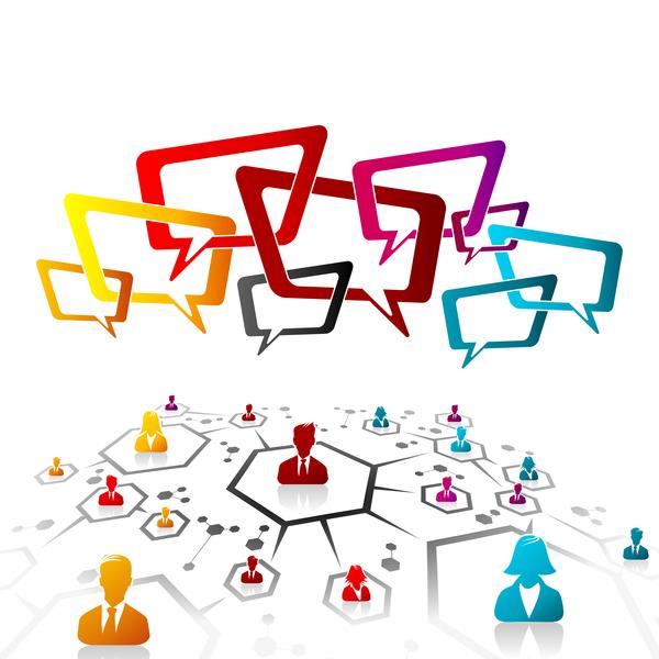 social communication business
