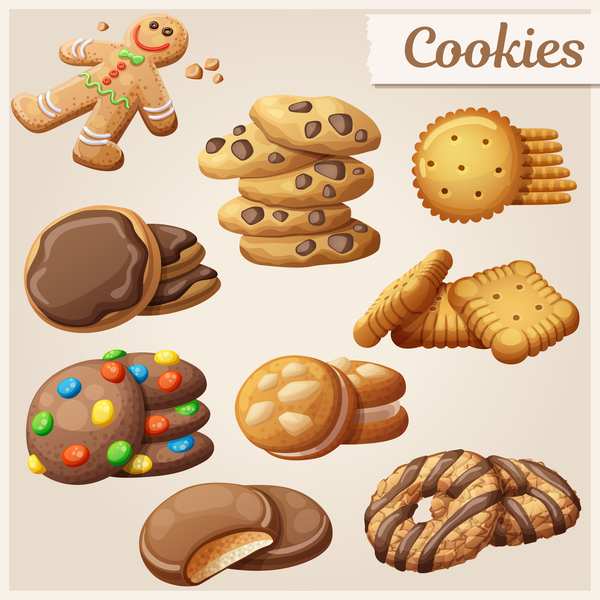 different Cookie