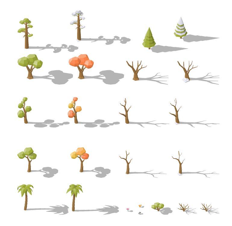 tree green dry