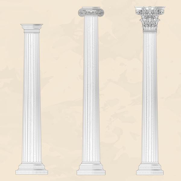 style european columns architecture