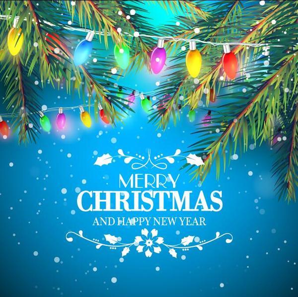 tree light fir christmas bulb