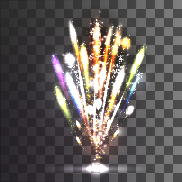 shine Fireworks effect