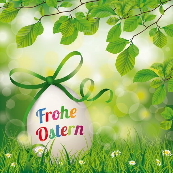 twigs Ostern Frohe flowers easter egg beech