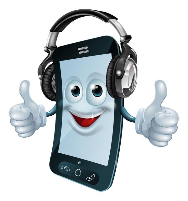 phone mobile funny cartoon