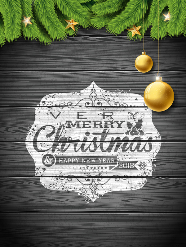 tree Glden fir christmas ball