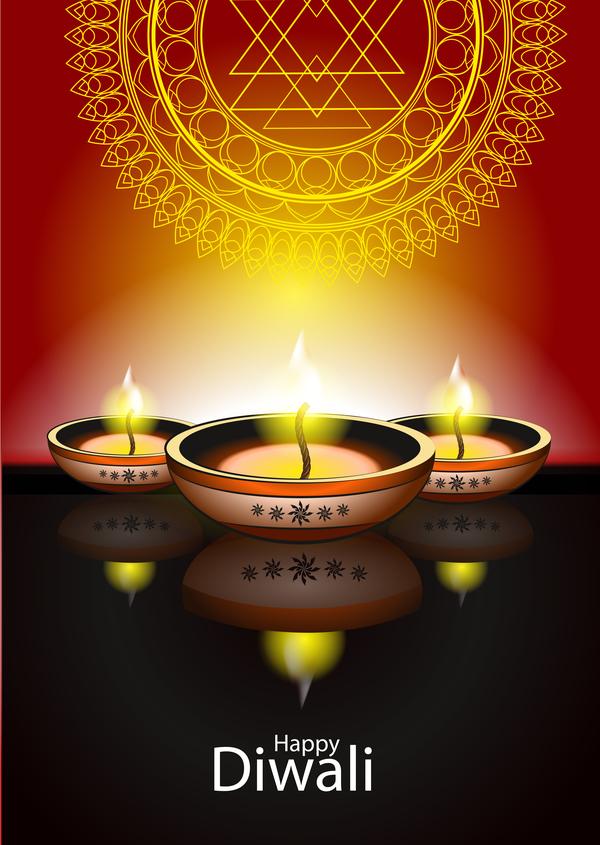 holiday happy Diwali candle