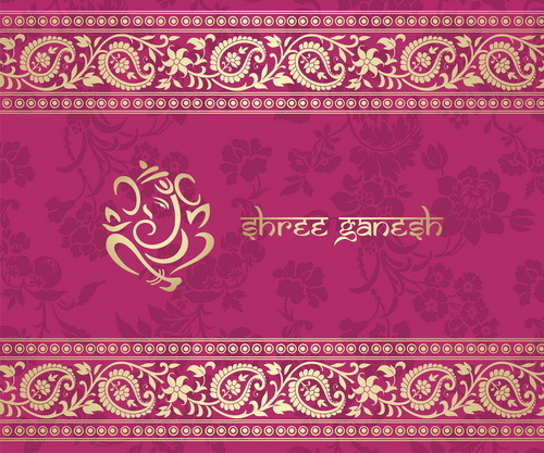 pink Patterns indian