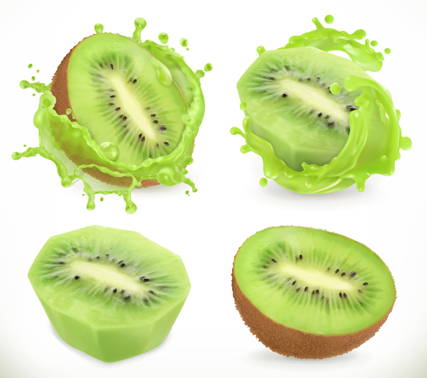 splash kiwi juice fruit