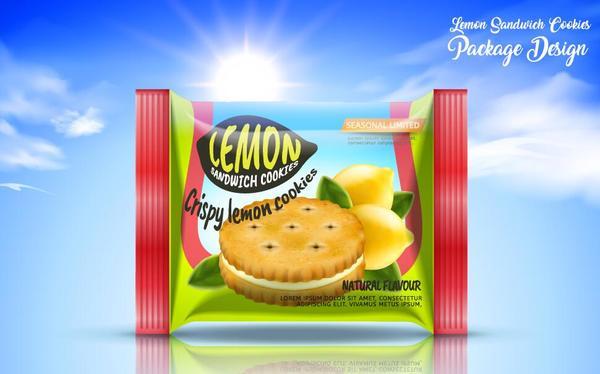 package lemon cookies