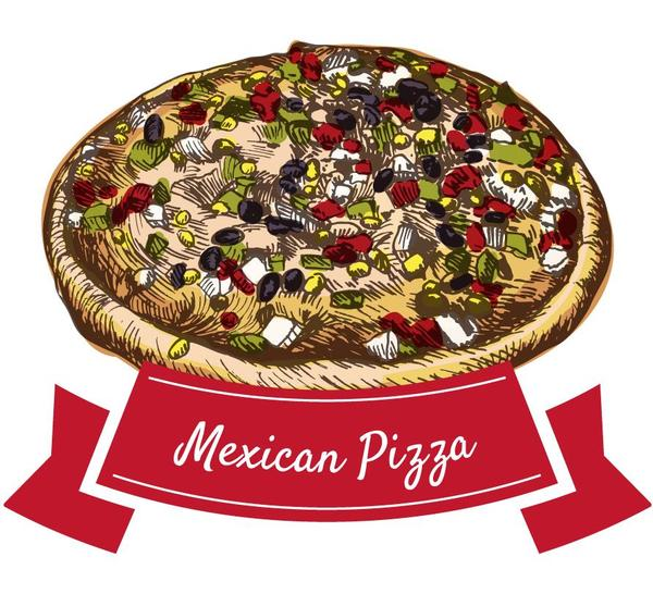 pizza mexican hand