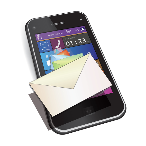 phone mobile mail
