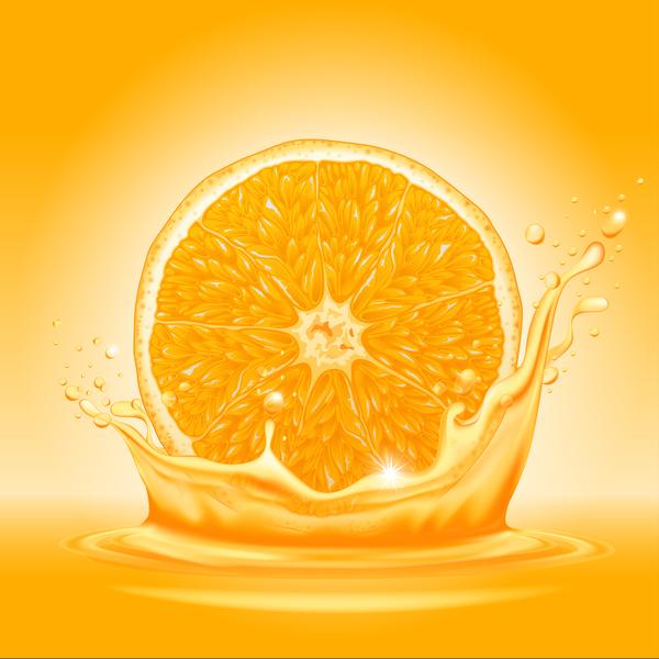 splash orange juice