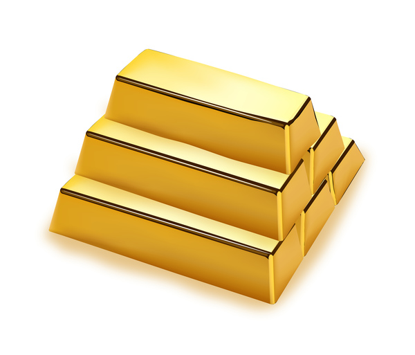 shiny gold bar