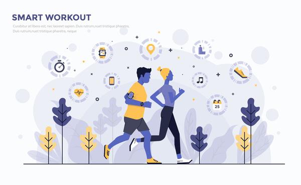 Workout smart flat business
