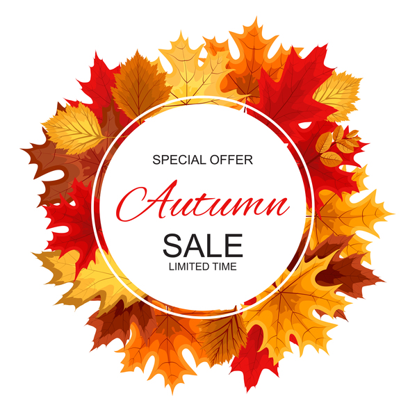 special sale offer autumn