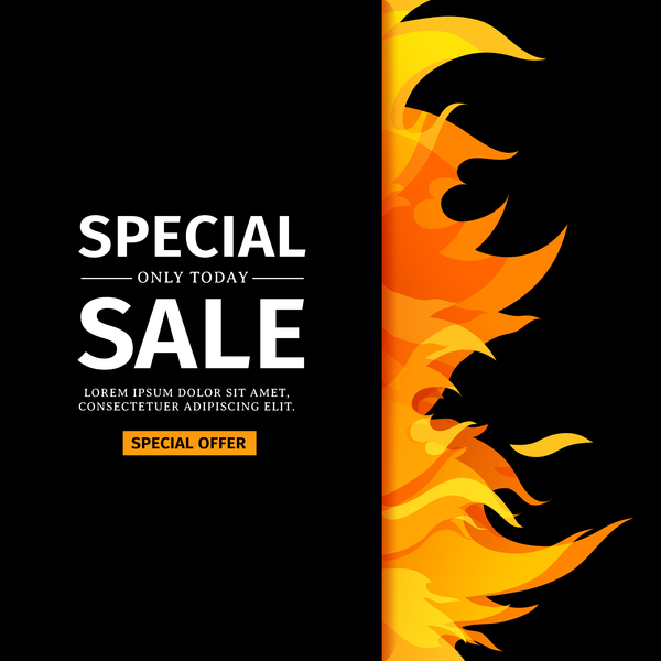 special sale flame