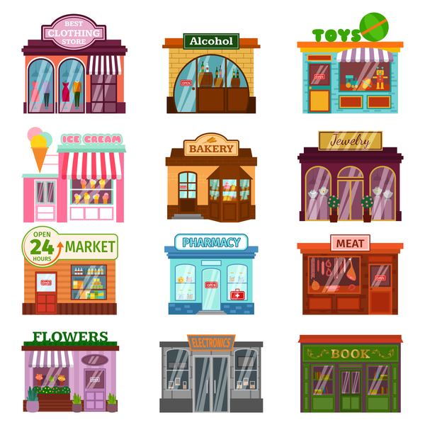 store illustration