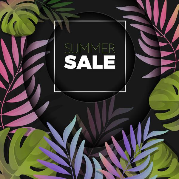 summer sale palm