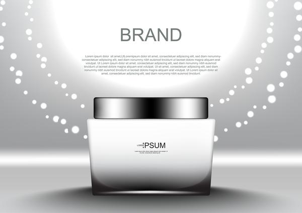 sun light day cream cosmetic ads