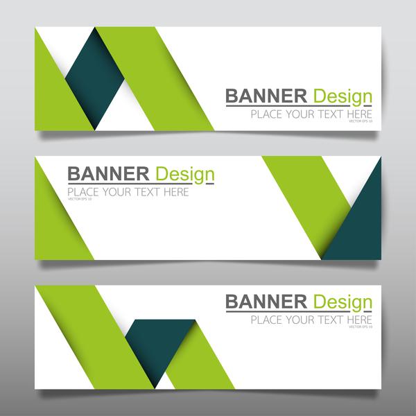 vector set of modern banners template design 04 welovesolo