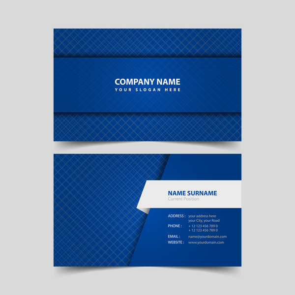 White with blue business card remplate vector welovesolo white remplate card business blue colourmoves