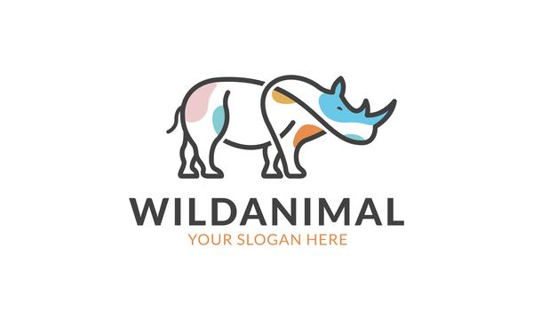 wild logo animal