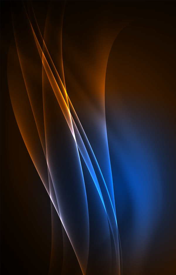 brown with blue light abstract background vector 01 - WeLoveSoLo