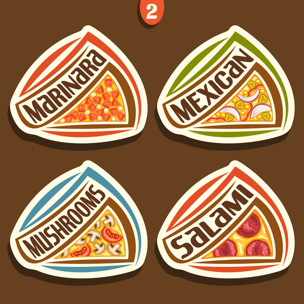 sticker pizza delicious