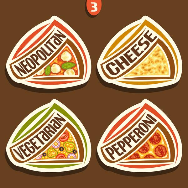 sticker pizza delicious