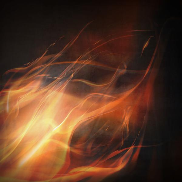 flame black
