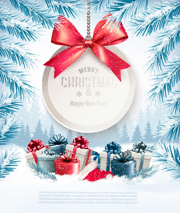 presents holiday gift christmas card
