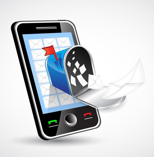 phone mobile letter