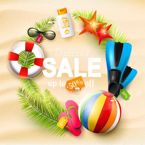 summer sand sale circle