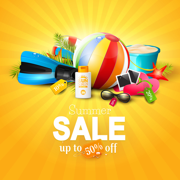 top summer sale orange