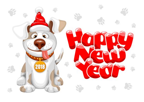 happy chien annee 2018