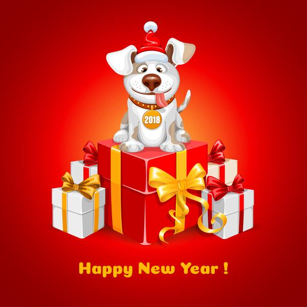 Jahr Hund happy 2018