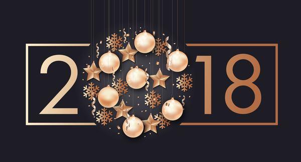 Weihnachten Rahmen Frohe Dekor 2018