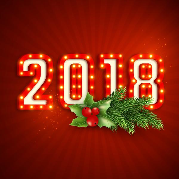 rouge neuf neon annee 2018