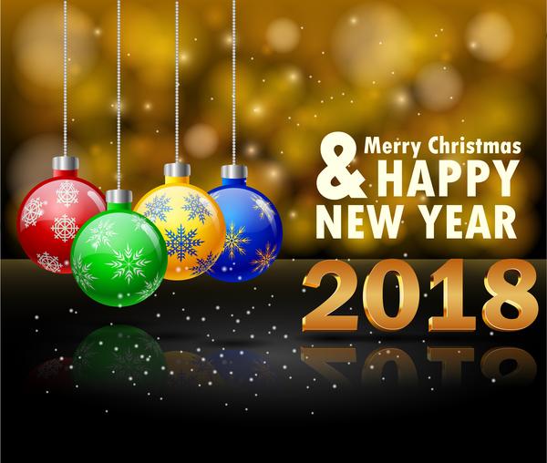 Weihnachten Neujahr 2018