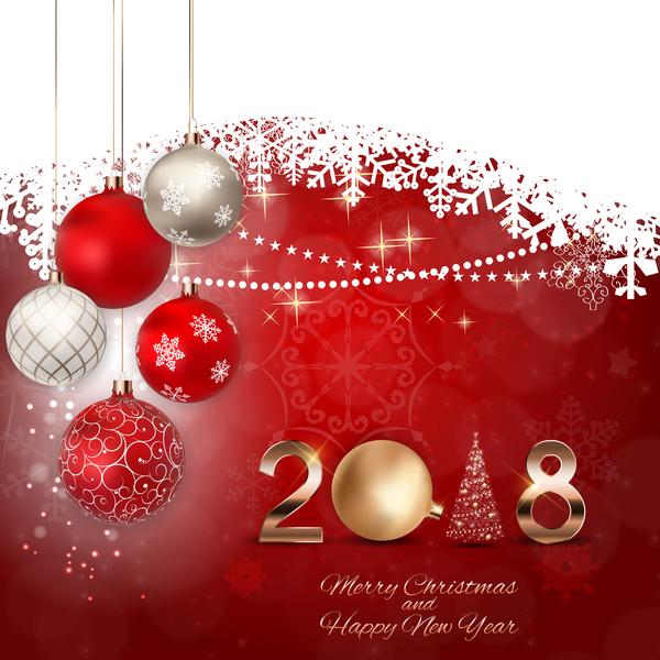 Weihnachten Schnee new lace Karte Jahr 2018
